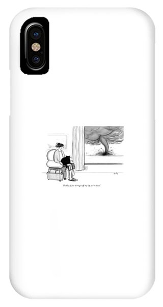 Pickles If You Do Not Get Off My Lap We Are Toast IPhone Case
