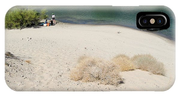Jet Ski iPhone Case - Picnic On Lake Mohave by Julie Niemela