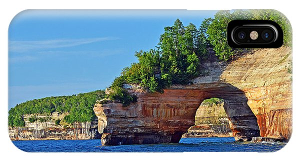 Pictured Rocks IPhone Case