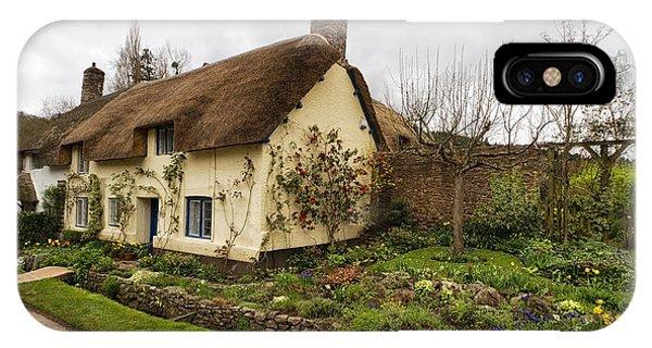 Picturesque Dunster Cottage IPhone Case