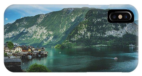 Picturesque Hallstatt Village IPhone Case