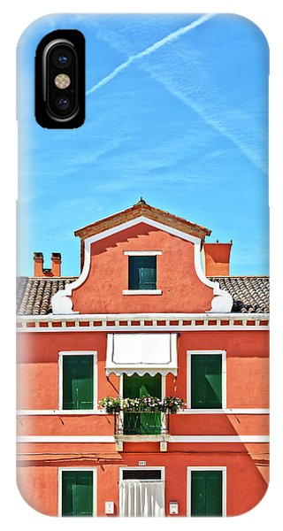 Picturesque House In Burano IPhone Case