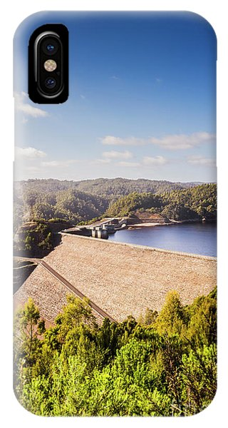 Attraction iPhone Case - Picturesque Hydroelectric Dam by Jorgo Photography - Wall Art Gallery