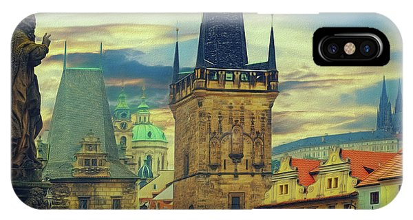 Picturesque - Prague IPhone Case