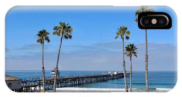 Pier And Palms IPhone Case
