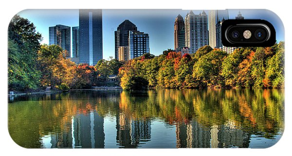 Haven iPhone Case - Piedmont Park Atlanta City View by Corky Willis Atlanta Photography