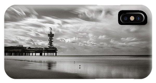 Pier iPhone Case - Pier End by Dave Bowman