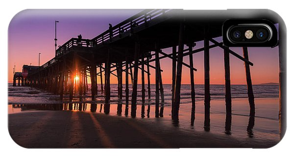 Pier In Purple IPhone Case