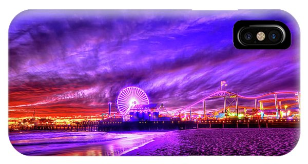 Pier Of Lights IPhone Case