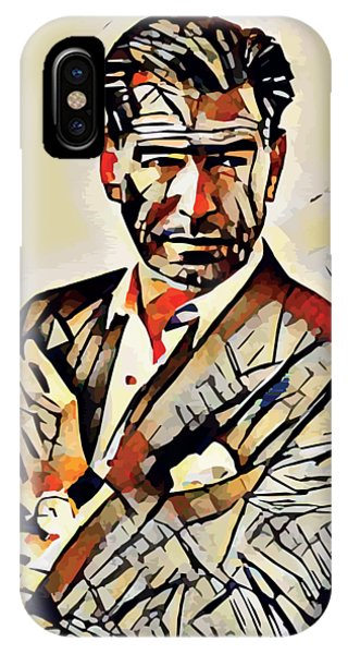 New Trend iPhone Case - Pierce Brosnan Portrait by Dusan Naumovski