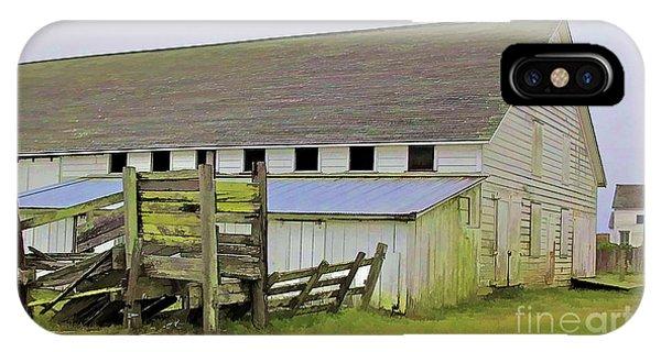 Pierce Pt. Ranch Barn IPhone Case