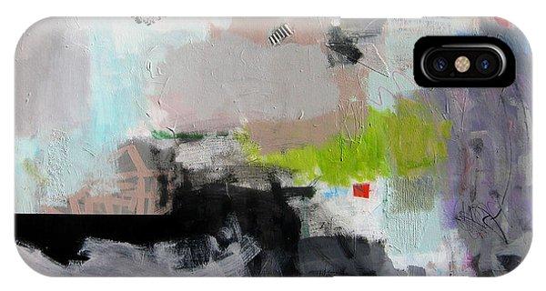 IPhone Case featuring the painting Pierre De Lune by Diane Desrochers