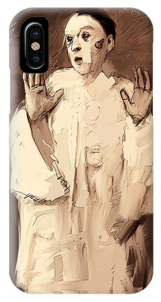 Arte iPhone Case - Pierrot by H James Hoff
