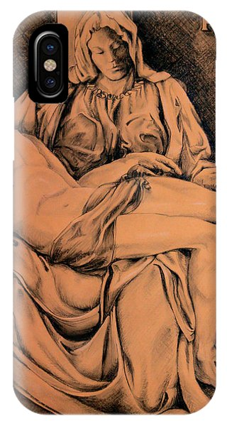 Pieta Study IPhone Case