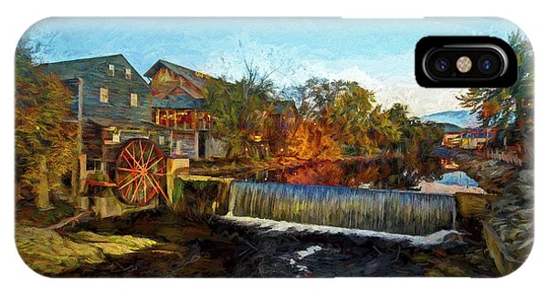 Pigeon Forge Old Mill IPhone Case
