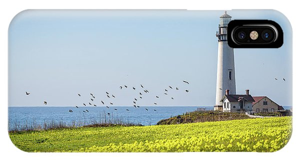 Pigeon Point Light Station Historic Park IPhone Case