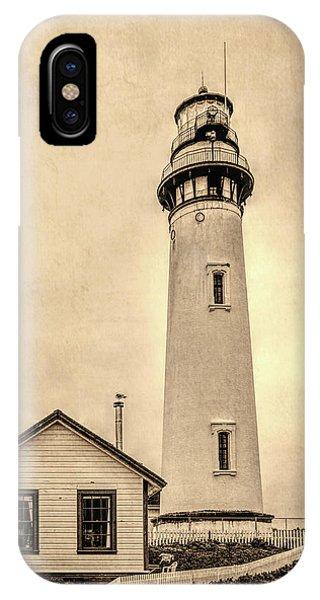 Pigeon Point Light Station Pescadero California IPhone Case