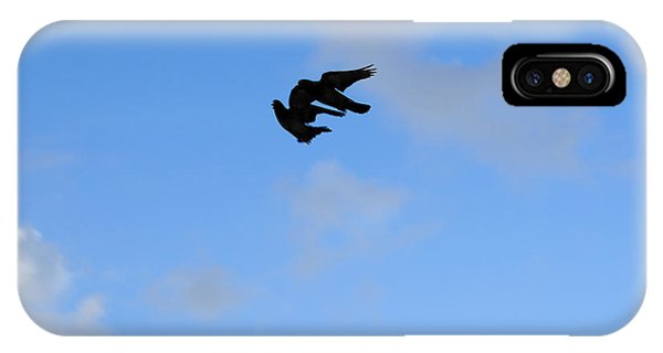 Pigeons Shadow IPhone Case
