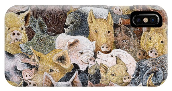 Pigs Galore IPhone Case