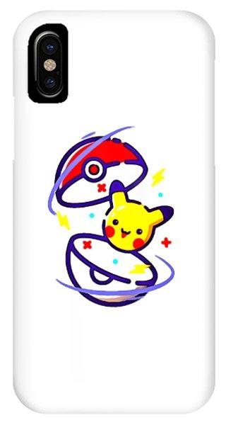 dd8b4bb45 Bulbasaur iPhone Case - Pikachu Pokemon by Yansya Aggata