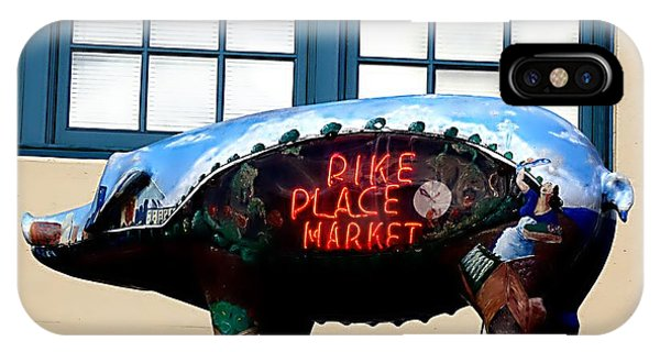 Pike Place Market IPhone Case
