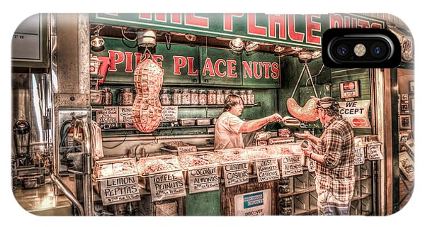 Pike Place Nuts IPhone Case