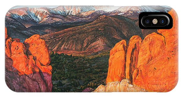 Pikes Peak IPhone Case