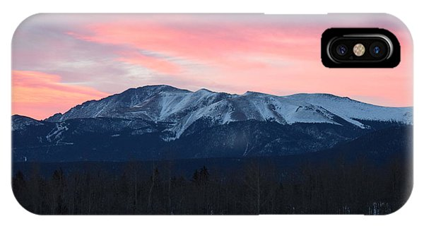 Sunrise Pikes Peak Co IPhone Case