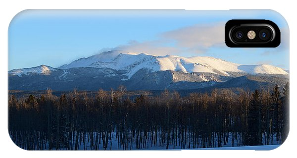 Pikes Peak From Cr511 Divide Co IPhone Case