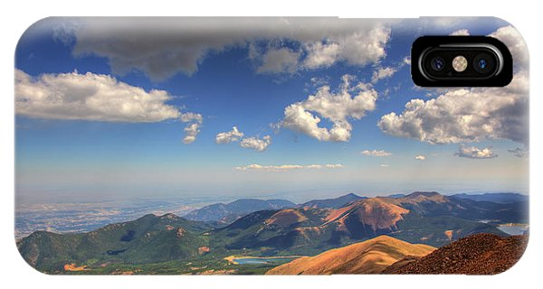 Pikes Peak Summit IPhone Case