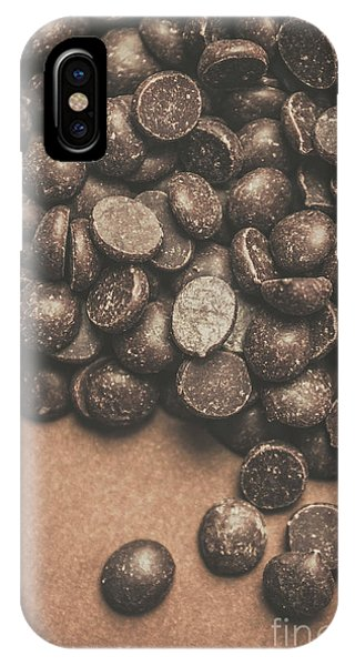 Chip iPhone Case - Pile Of Chocolate Chip Chunks by Jorgo Photography - Wall Art Gallery