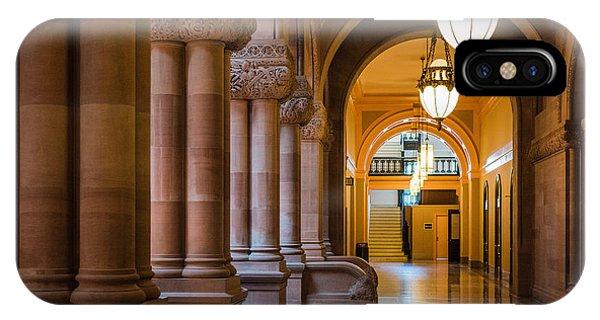 Pillar Hallway IPhone Case
