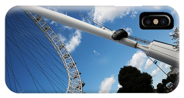 Pillar Of London S Ferris Wheel  IPhone Case