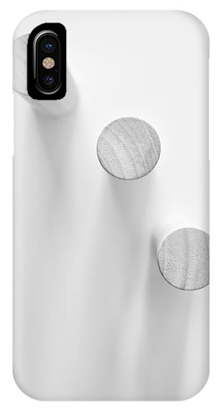 Minimalist iPhone Case - Pillars by Scott Norris