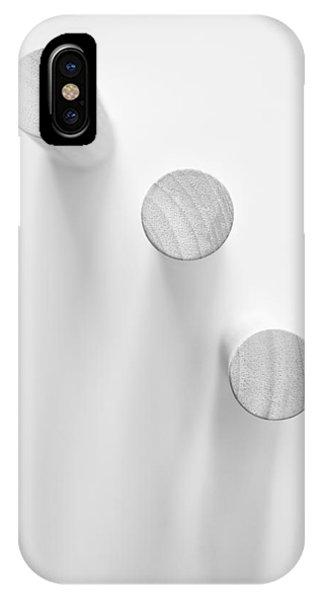 Minimal iPhone Case - Pillars by Scott Norris