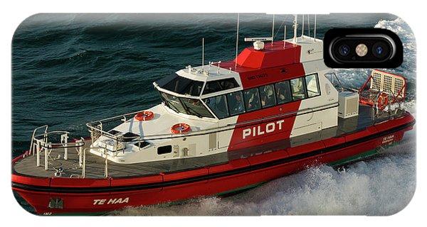 Pilot Boat Wellington IPhone Case