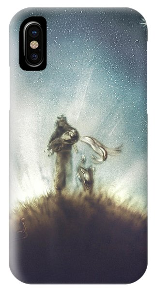 Pilot, Little Prince And Fox IPhone Case