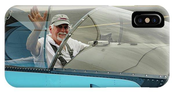 Pilot Vic Vicari IPhone Case