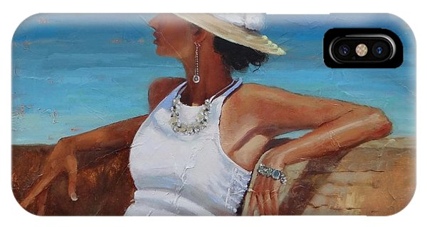 Women iPhone Case - Pina Colada Please by Laura Lee Zanghetti