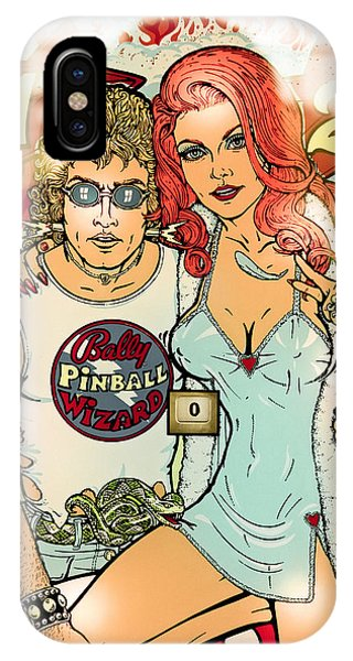 Pinball Wizard Fantasy IPhone Case