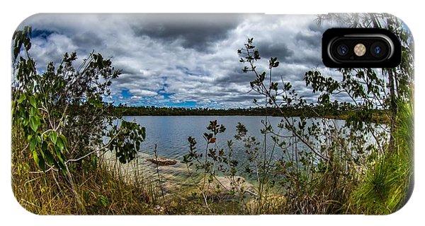 Pine Glades Lake 18 IPhone Case