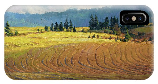 Ranch iPhone Case - Pine Grove by Steve Henderson