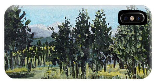 Pine Landscape No. 4 IPhone Case