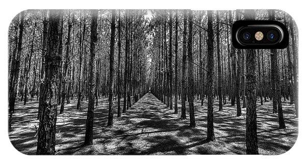 Pine Plantation Wide IPhone Case