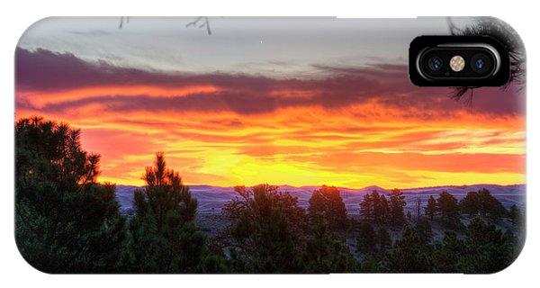 Pine Sunrise IPhone Case
