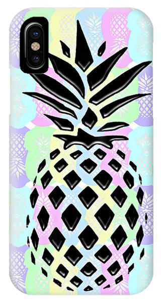 Pineapple Collage IPhone Case