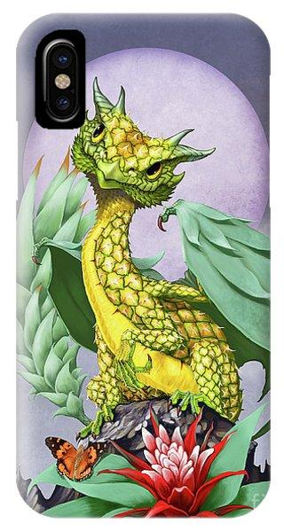 Pineapple Dragon IPhone Case