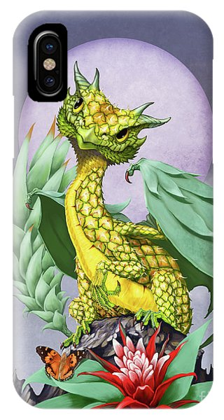 Pineapple Dragon IPhone Case
