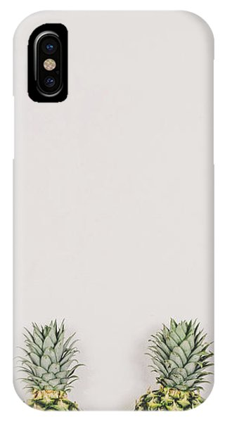 Pineapple iPhone Case - Pineapples by Happy Home Artistry
