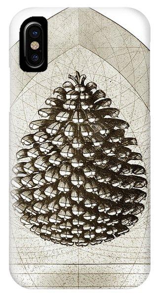 Pine Cone IPhone Case